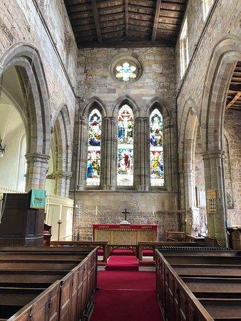 Breedon on the Hill, UK: Church Interior