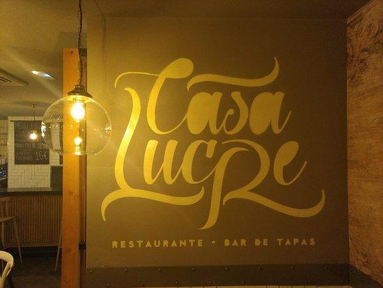 Mondejar, إسبانيا: Restaurante Bar de Tapas Casa Lucre