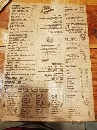 Omelegg - De Pijp: The menu