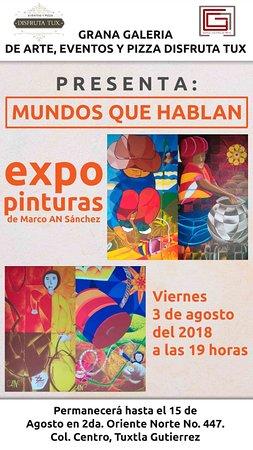 Grana Galeria de Arte: expo actual 3 de agosto al 15 de agosto 2018 