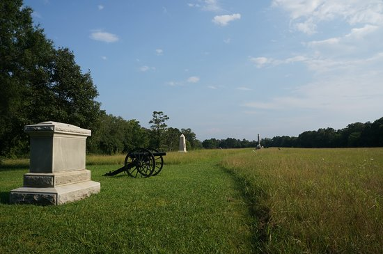 Chickamauga and Chattanooga National Military Park: Monuments and Cannons, Chickamauga Battlefield