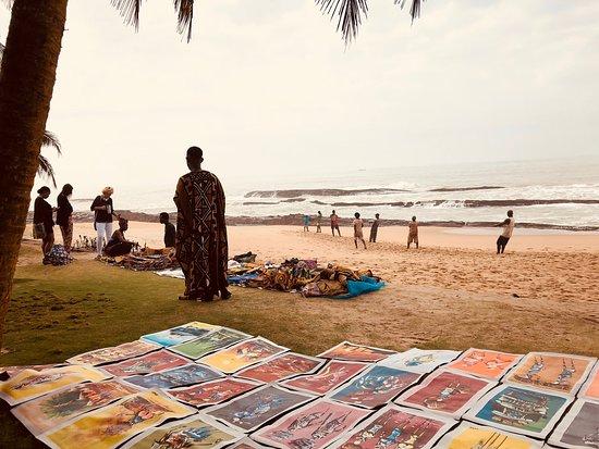 Coconut Grove Beach Resort: Artisan Market on the Beach