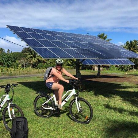 Tik-e-bikes: carbon neutral, fun experience