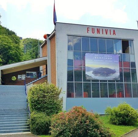 Brusino-Serpiano Funivia base station/ticket office