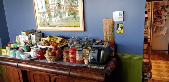 Escuminac, Canada : Buffet petit déjeuner gargantuesque.