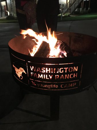 Antelope, OR: Fire pit