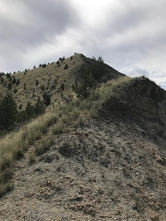 Antelope, OR: the hill to conquer