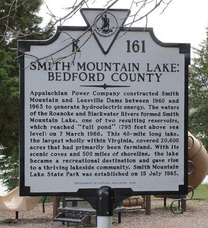 Huddleston, VA: Information about the lake