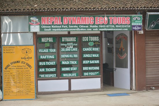 Chitwan National Park, เนปาล: Nepal Dynamic Eco Tours & Services