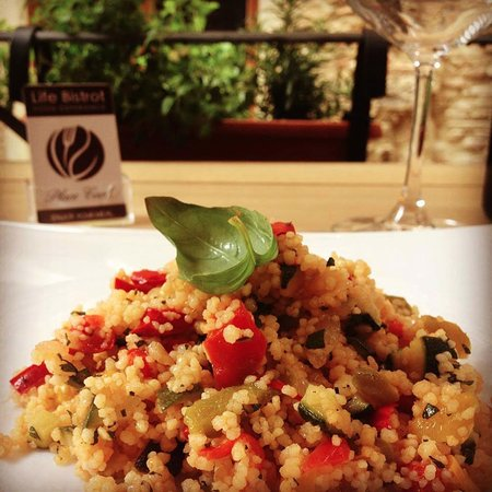 The Life Bistrot - Plant Based Restaurant - Archaeological Site: Vegetable Cous Cous