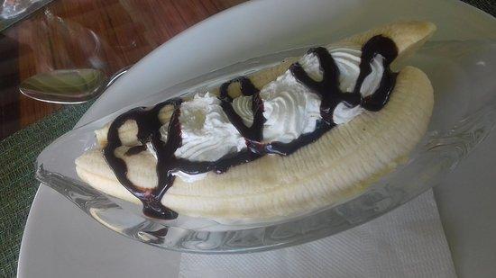 Mango Bay All Inclusive: amazing banana split