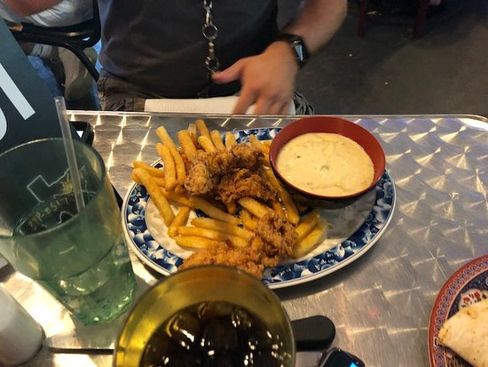 Gypsy Joynt: chicken fingers