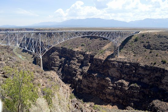 Enchanted Circle Drive: Rio Grande Gorge Bridge