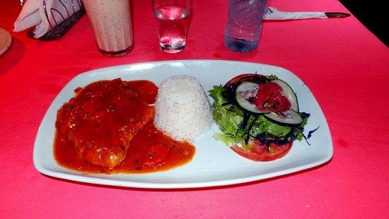 Palenque Luisa: Pollo al diablo