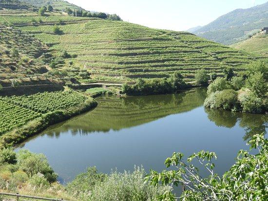 Folgosa, Portugal: Vista rio Tedo