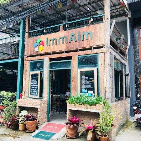 photo2.jpg - Picture of Imm Aim Vegetarian & Bike Cafe', Chiang Mai -  Tripadvisor