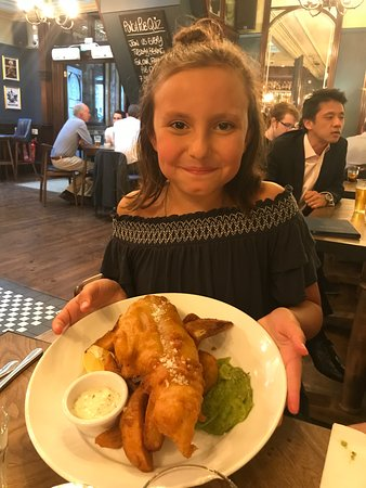 Punch Tavern: Perfectly prepared Fish & Chips