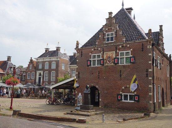 Workum, Belanda: Erfskip, de oude waag