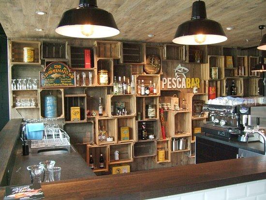 Sihlbrugg, Svizzera: Bar im Kochstudio
