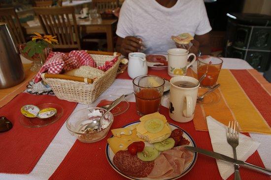 Kokorin, Republika Czeska: Breakfast plate