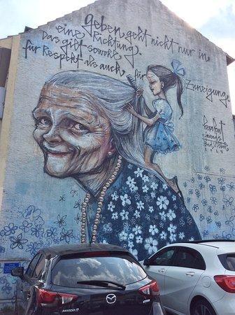 Bad Vilbel, Allemagne: German street art
