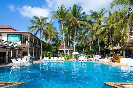 Phangan Bayshore Resort: Vue de la piscine