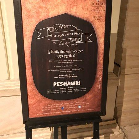 Peshawri: Peshawari in ITC Grand in Chennai. Pics taken in August 2018