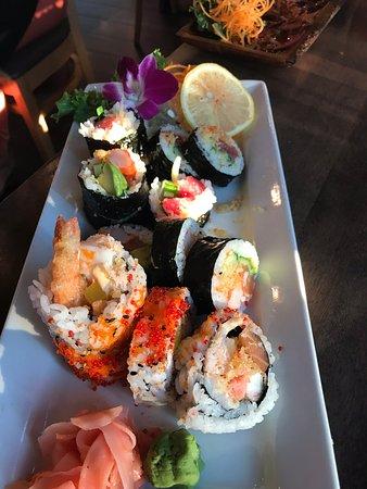 Asst sushi - Kamakaze, Spicy Tuna, and La Sirene