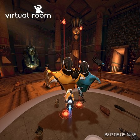 Selfie - Picture of Virtual Room: Virtual Reality Singapore