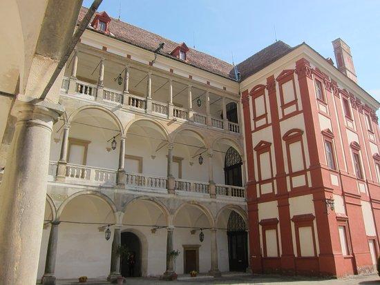 Opocno Castle, Czech Reublic - courtyard