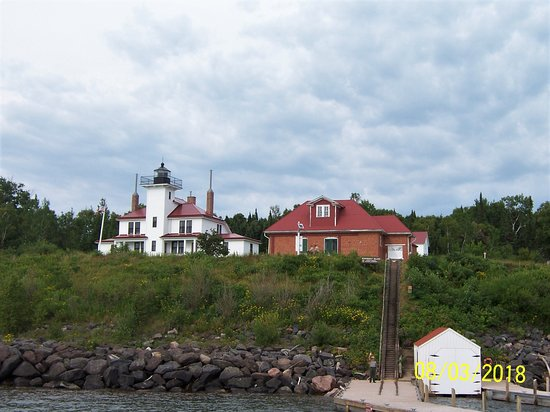 La Pointe, WI: The lighthouse