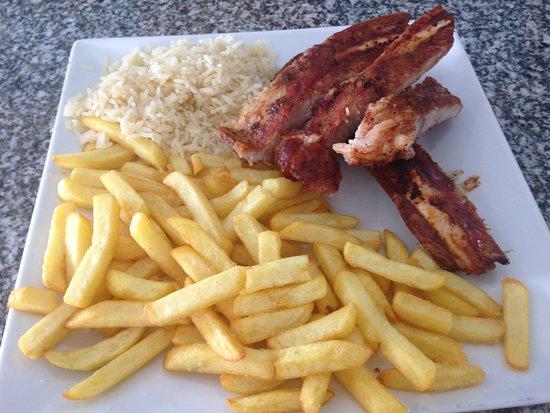 Gafanha da Boa-Hora, Portugal: Costillas de cerdo