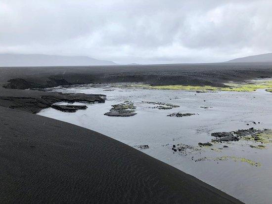 Askja: Der Fluß, der Sand frisst
