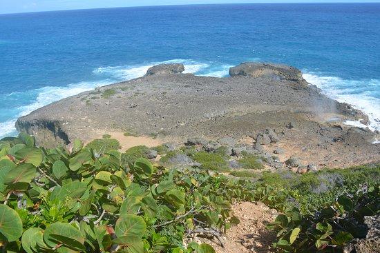 Anse-Bertrand, Guadeloupe: Souffleur