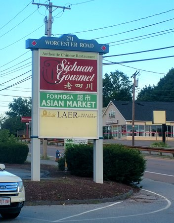 Signage    On Route 9 - Picture of Sichuan Gourmet