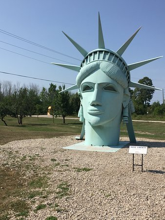 Onaway, MI: Lady Liberty