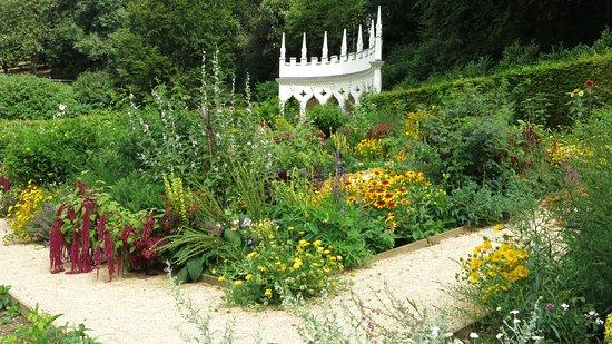 Painswick Rococo Garden: Colour in the garden.