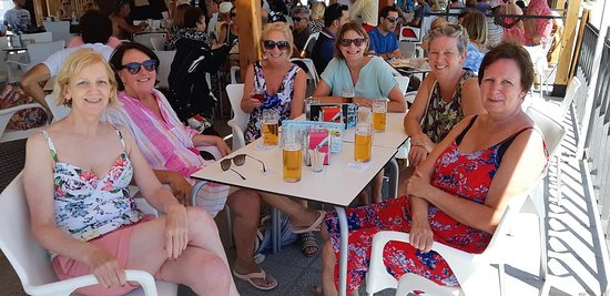 Beach Bar Principado : Ladies weekend break