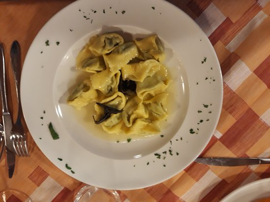 tortelli ricotta e spinaci