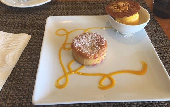 Te Tiare: Tarte coco et sorbet mangue