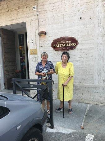 17c45615fa Ristorante Battaglino  Ingresso dalla Piazza Roma.