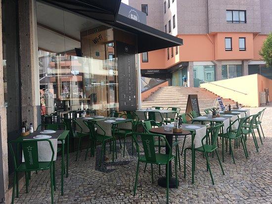 Bijou Restaurante: Esplanada exterior