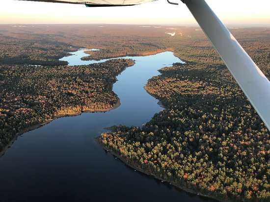 Tobyhanna, เพนซิลเวเนีย: Pocono Lake Observation Airplane Tour