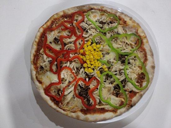 Il Camino: Pizza pollo