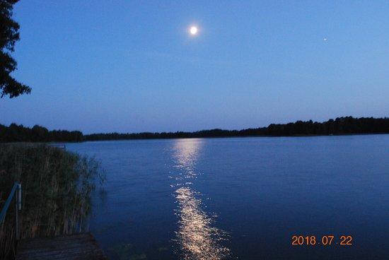 Szczytno, Polandia: Widok z pomostu