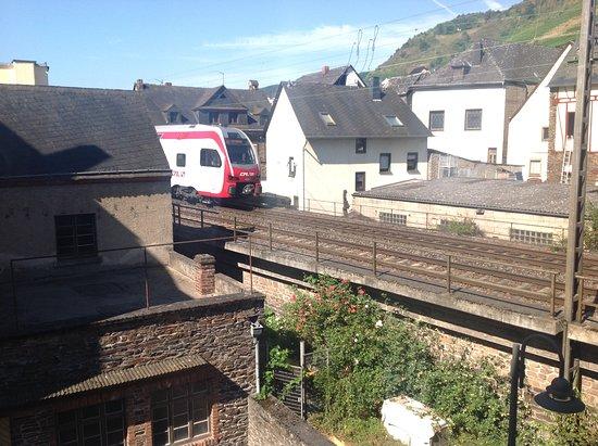 Klotten, Germany: Train, trains, trains