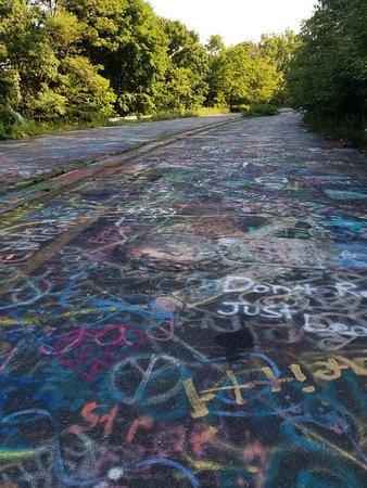 Centralia, PA: Graffiti Highway
