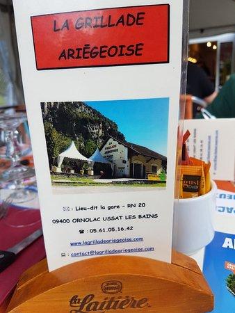Ornolac-Ussat-les-Bains, Francia: 20180804_190516_large.jpg