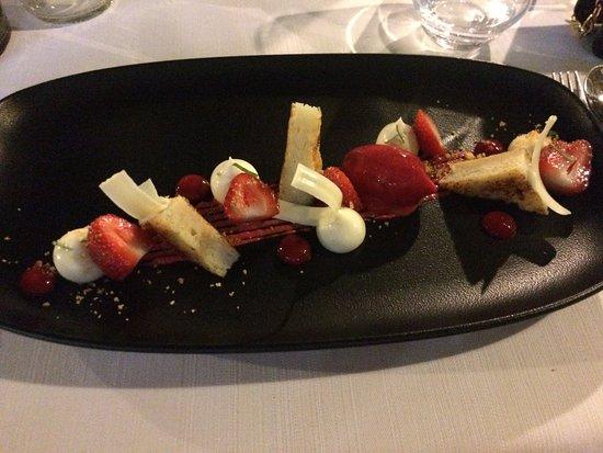 Bistrot Badine: dessert fraise de france