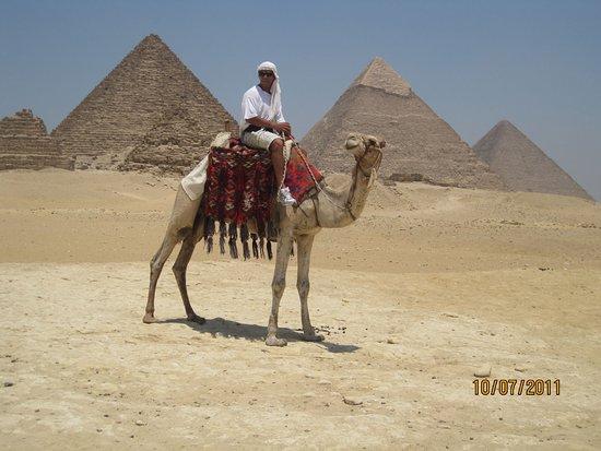 Ipanema: Camel ride at Giza